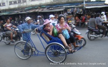 cyclo in phnom penh