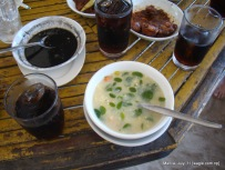 Manila food: Corn soup