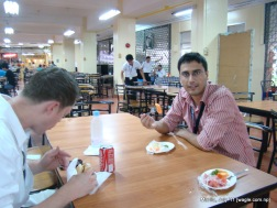Manila food: inside the Uni canteen with Malte