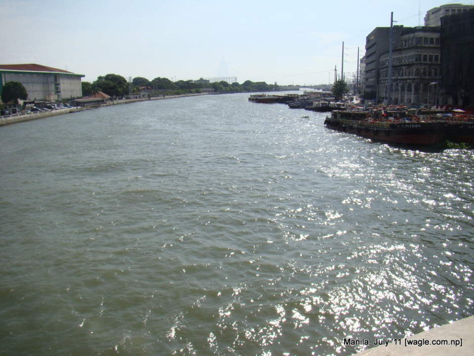 Pasig River- Near China Town