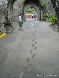 Hero's footprints
