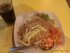 manila food: fried rice