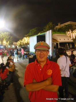 thailand red shirt activists