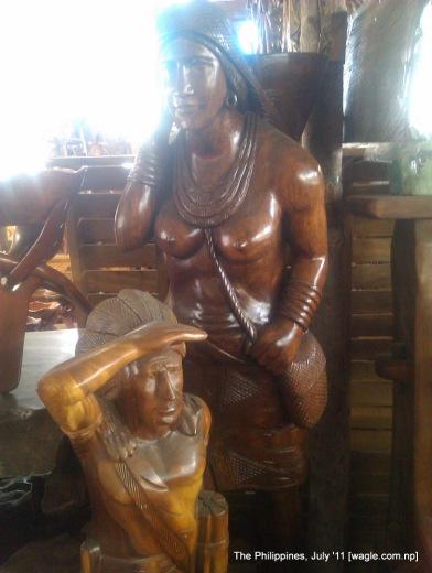 manila: wood art