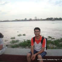 Phnom Penh on the Bank of Mekong River (7)