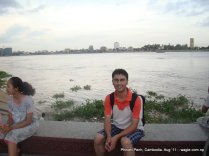 Phnom Penh on the Bank of Mekong River (7)
