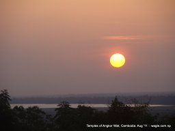 Sunset View from the Hill Temple of Angkor (22)