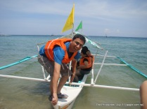 the philippines; ready to explore the sea. really
