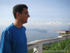"""the philippines: an """"active"""" volcano and the lake"""