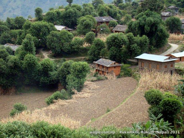 1-a view of rukumkot village nepal