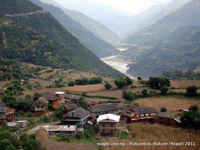 1-a view of rukumkot village