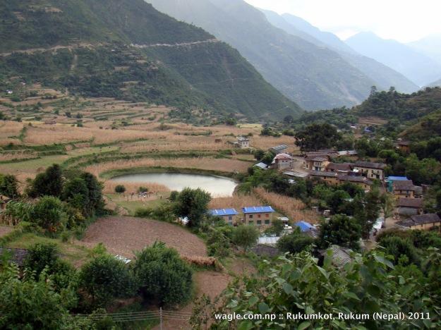 1-rukumkot second pond and houses