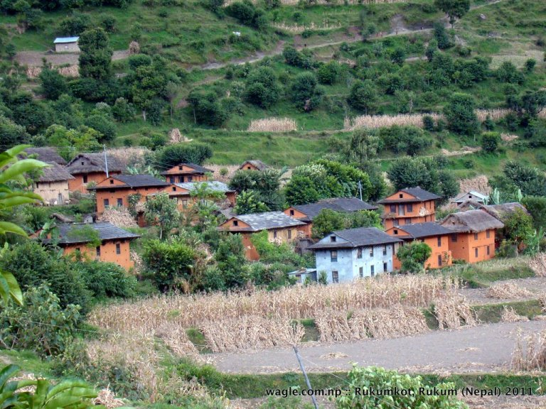1-rukumkot village houses