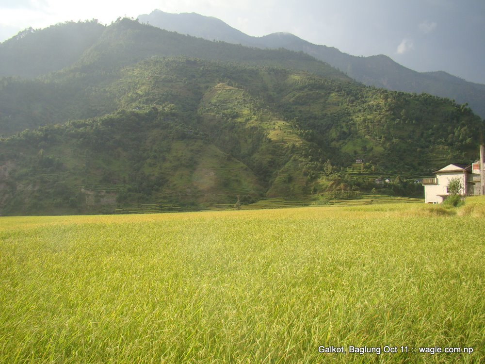 a nepali village of baglung galkot (2)