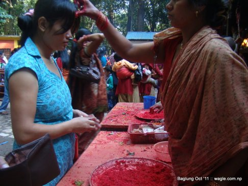 baglung kalika temple dashain festival (15)