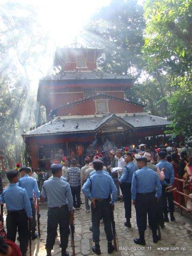 baglung kalika temple dashain festival (25)