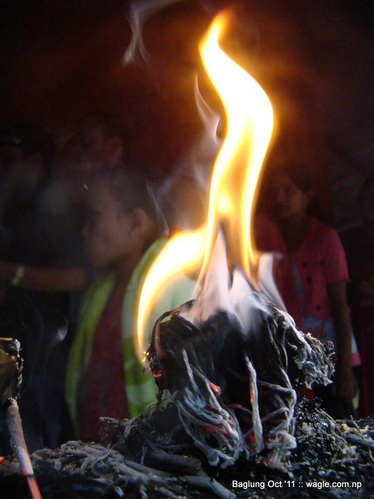baglung kalika temple dashain festival | Wagle Street Journal