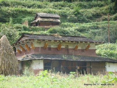 Bobang village, Baglung. Nepal