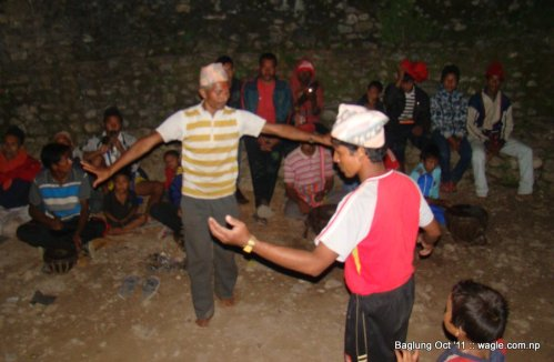 dasain dance in burtibang