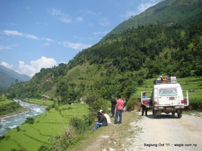 mid hill highway in nepal (0)