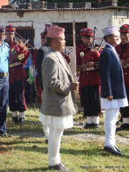 nepal army celebrates dashain festival in baglung (0)