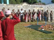 nepal army celebrates dashain festival in baglung (1)