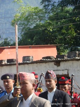 nepal army celebrates dashain festival in baglung (3)