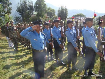 nepal army celebrates dashain festival in baglung (4)