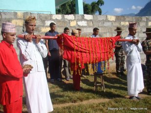 nepal army celebrates dashain festival in baglung (7)