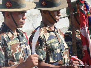 nepal army celebrates dashain festival in baglung (8)