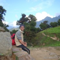 DW at Cubang pass