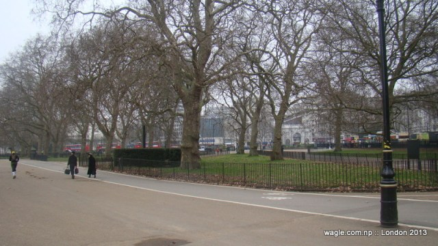 Speakers' Corner, Hyde Park, London.