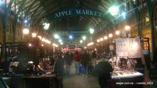 Because there were neither Apples- the fruit- nor computers and iPads on sale. A lot of handcrafted souvenir products.