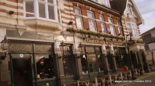 A pub in Dulwich village