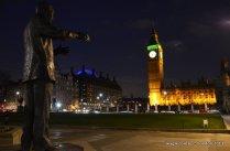 Nelson Mandela at London Parliament Square 2