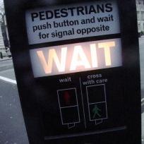 Pedestrians Push Button 1