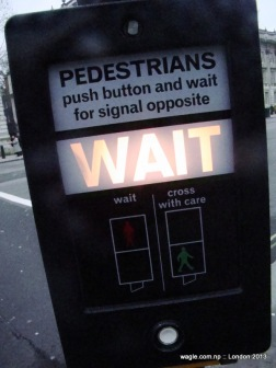 Pedestrians Push Button 1