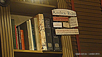 pub kitchen rules