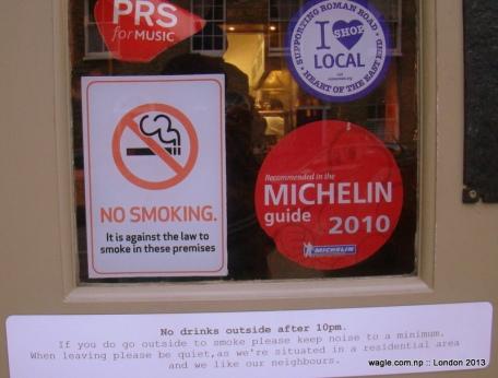 pub notices