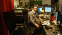 At the BBC Recording Studio