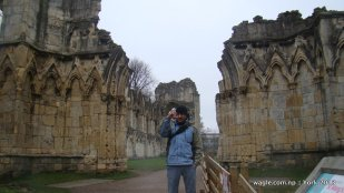 Dinesh and Ruins