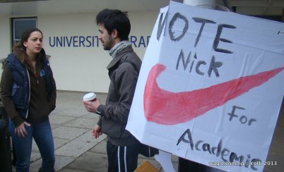 University of York Student Election Campagin Poster