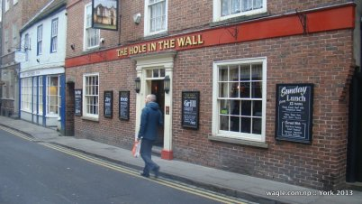 York- The Hole in the Wall
