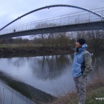 York- The Millennium Bridge Over River Ouse