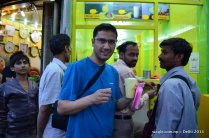 A cup of Lassi- that's what one needs to survive a Delhi summer