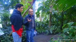 Bhaskar Adhikari who works at the Royal Botanical Gardens as a researcher gave me a near-detailed tour of the beautiful Gardens.