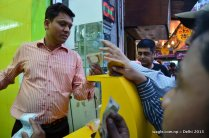 All want a cup of deeply satisfying Lassi in Old Delhi