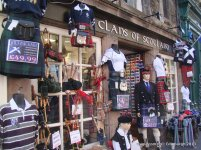 Clans of Scotland- On Way to Edinburgh Castle