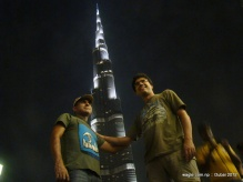 The coincidence is as I am working on this entry Discovery Channel is airing a program on Burj Khalifa that details how it was constructed and how the filthy rich residents of the building decorated their interiors (often by screaming at Asian migrant workers who did the real job).