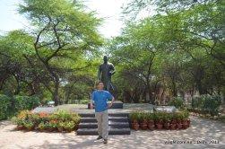 JNU Nehru Statue